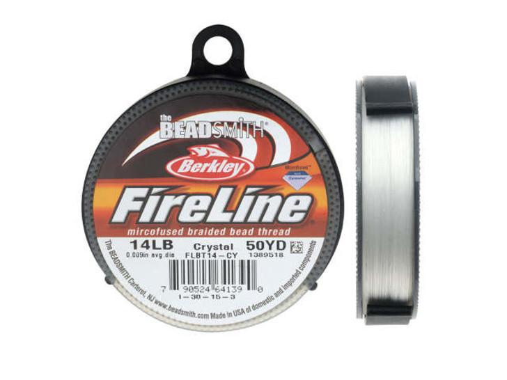 The BeadSmith Crystal FireLine - 50 Yards (14-Pound Test)