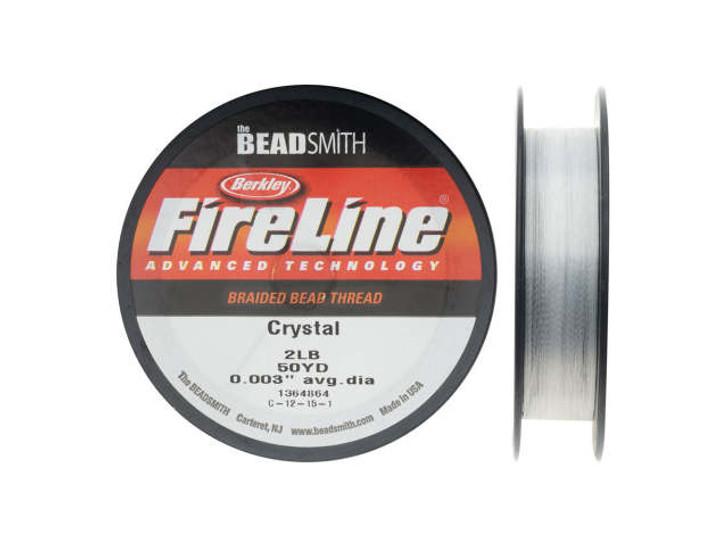 The BeadSmith Crystal FireLine - 50 Yards (2-Pound Test)