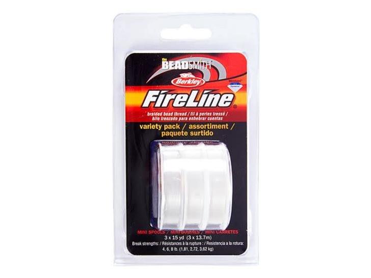 The Beadsmith Crystal FireLine - Assortment Pack