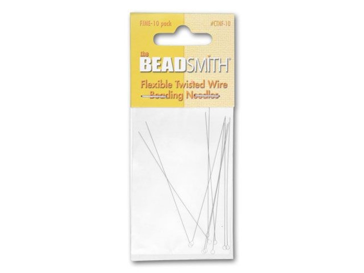 The BeadSmith FINE Beading Needles 10-Pack