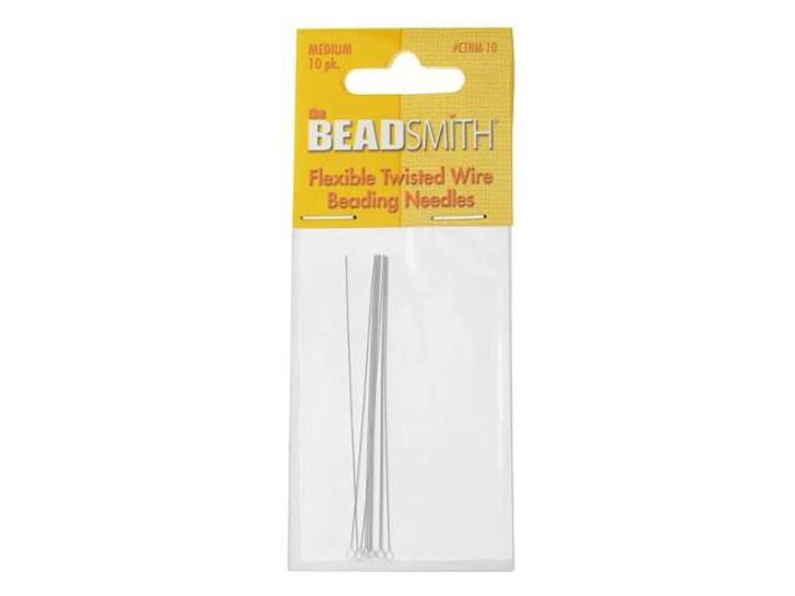 The BeadSmith MEDIUM Beading Needles 10-Pack