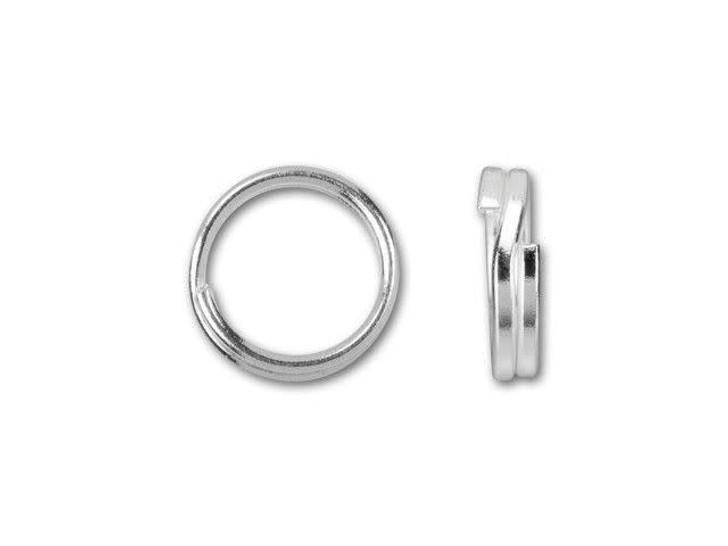 5mm Sterling Silver Split Ring
