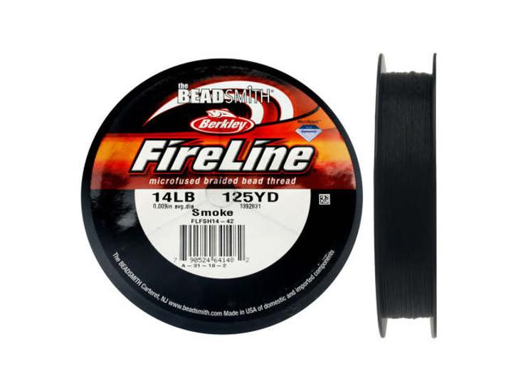The BeadSmith Smoke Grey FireLine - 125 Yards (14-Pound Test)