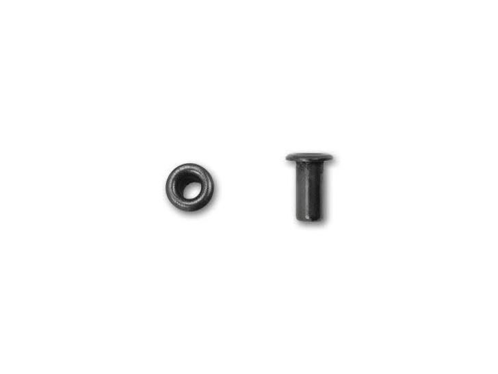 TierraCast 5.2mm Black Finish Brass Eyelet (10pc Pack)