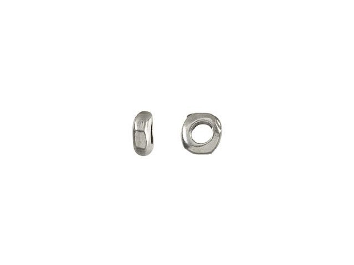 TierraCast 5mm Antique Pewter Nugget Spacer Bead with 2mm Hole