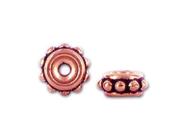 TierraCast Antique Copper 6mm Beaded Spacer
