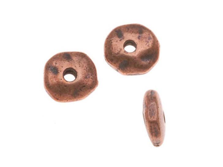 TierraCast Antique Copper 7mm Nugget Heishi Spacer