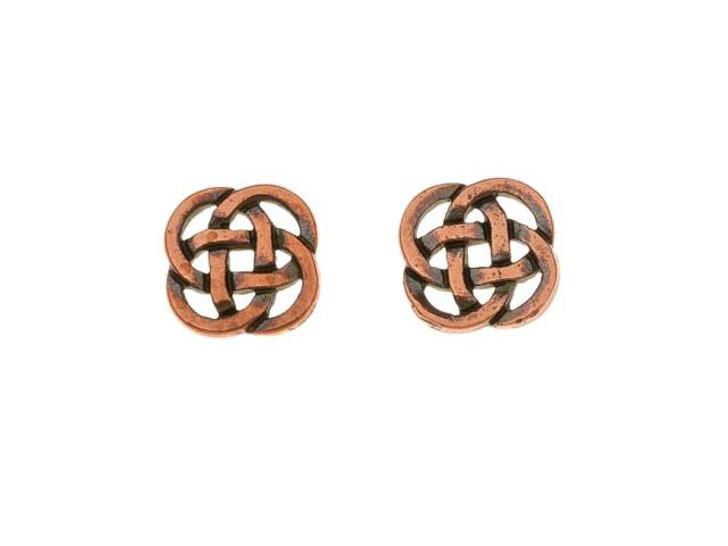 TierraCast Antique Copper Celtic Open Link