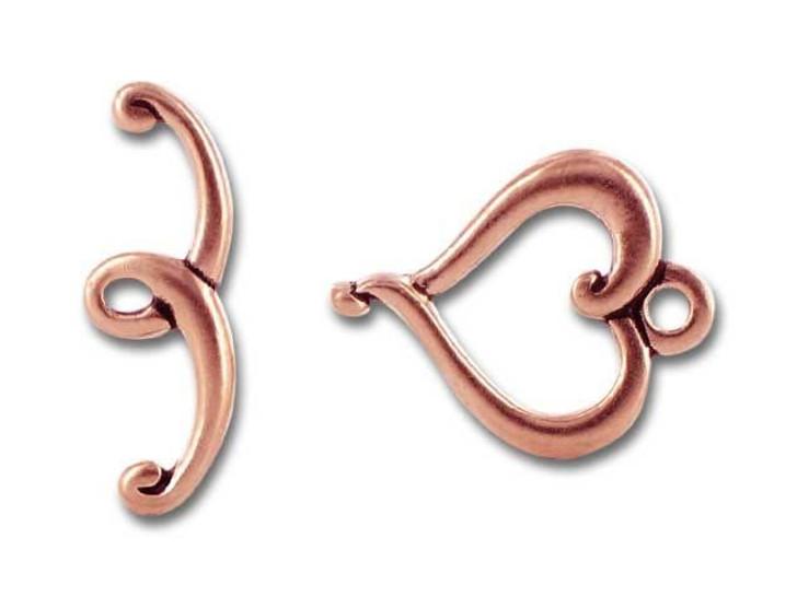 TierraCast Antique Copper Jubilee Clasp Set