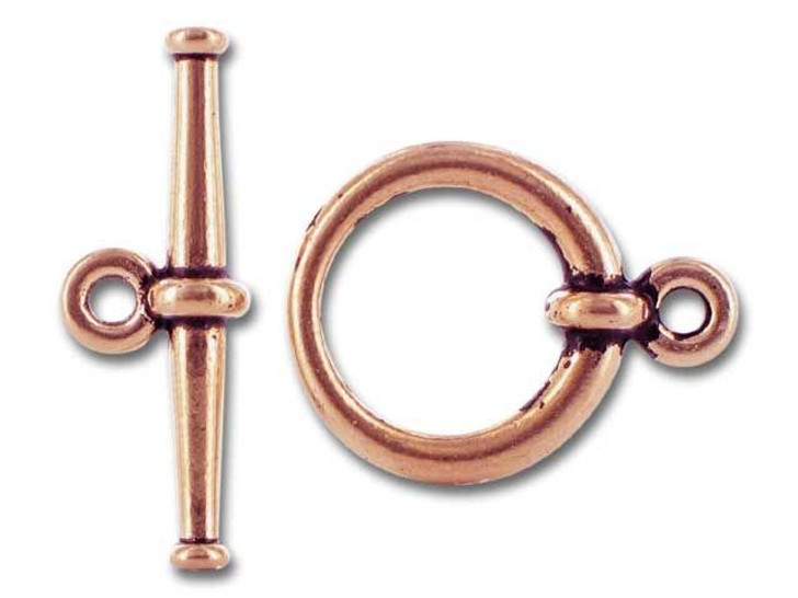 TierraCast Antique Copper Large Tapered Clasp Set