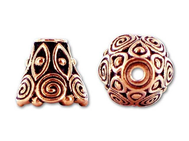 TierraCast Antique Copper Spiral Cone