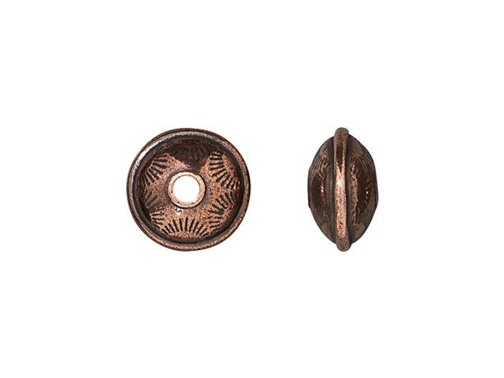 TierraCast Antique Copper-Plated Pewter Western Bead