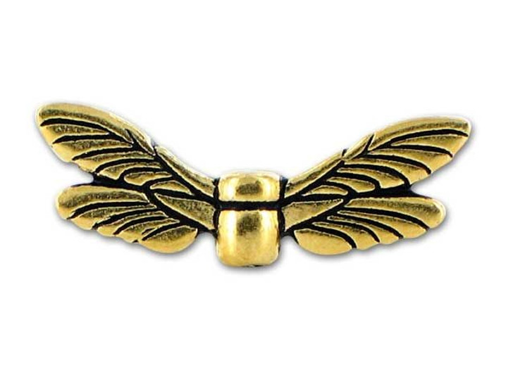 TierraCast Antique Gold Dragonfly Wings