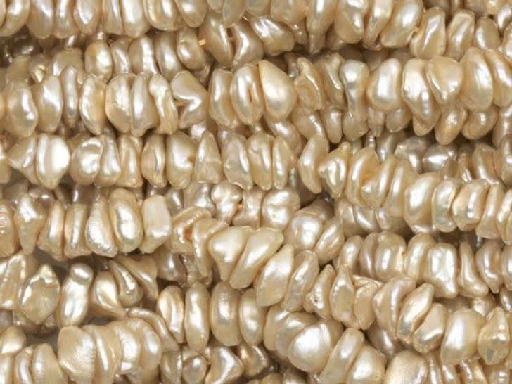 6-7mm Butterscotch Keshi Pearls