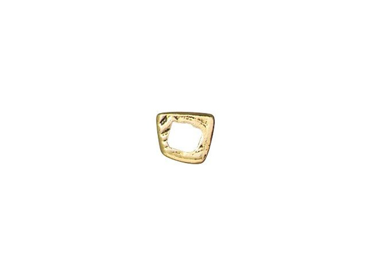 TierraCast Antique Gold-Plated Pewter Intermix 1-Ring Link