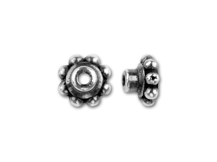 TierraCast Antique Silver 5mm Bead Aligner