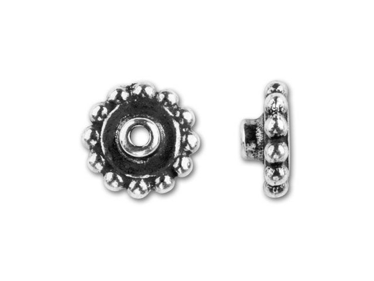 TierraCast Antique Silver 8mm Bead Aligner