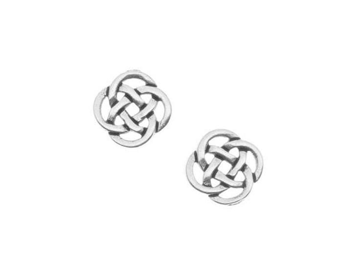 TierraCast Antique Silver Celtic Open Link