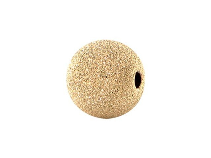 6mm Gold-Filled Round Stardust Bead