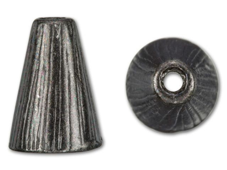 TierraCast Black Finish Pewter Tall Radiant Cone
