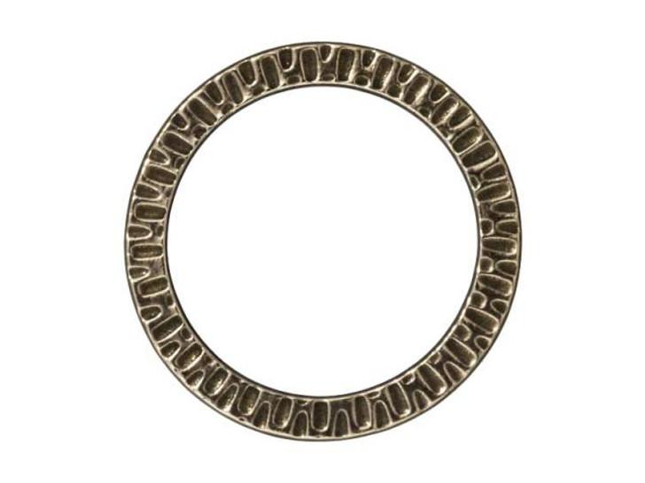 TierraCast Oxidized Brass-Plate Radiant Link