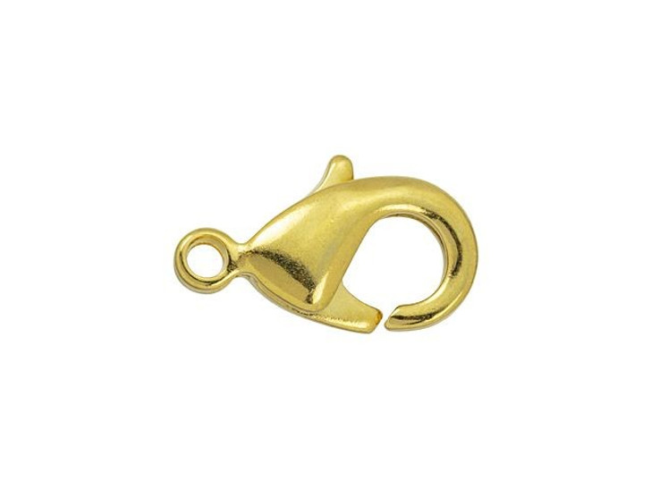 TierraCast Gold-Plated 12 x 7mm Lobster Clasp