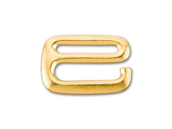TierraCast Gold-Plated Pewter 3/4-Inch E Hook Clasp