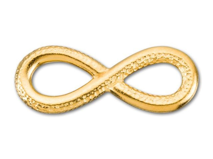 TierraCast Gold-Plated Pewter Infinity Link