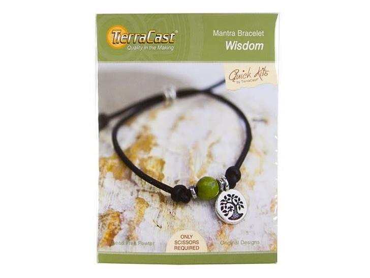 TierraCast Wisdom Mantra Bracelet Kit