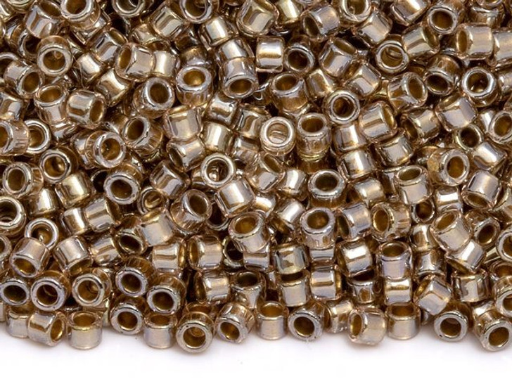 TOHO Aiko 11/0 Antique Copper-Lined Crystal Precision Cylinder Seed Beads, 4g Pack