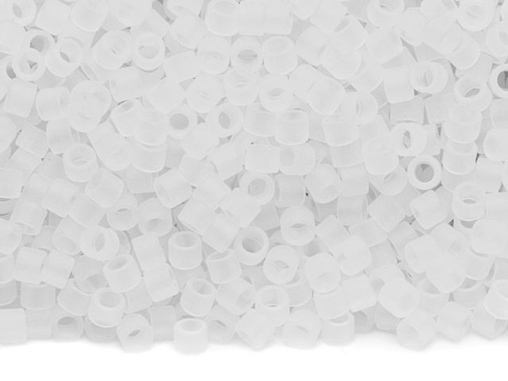 TOHO Aiko 11/0 Ceylon Frosted Snowflake Precision Cylinder Seed Beads, 4g Pack