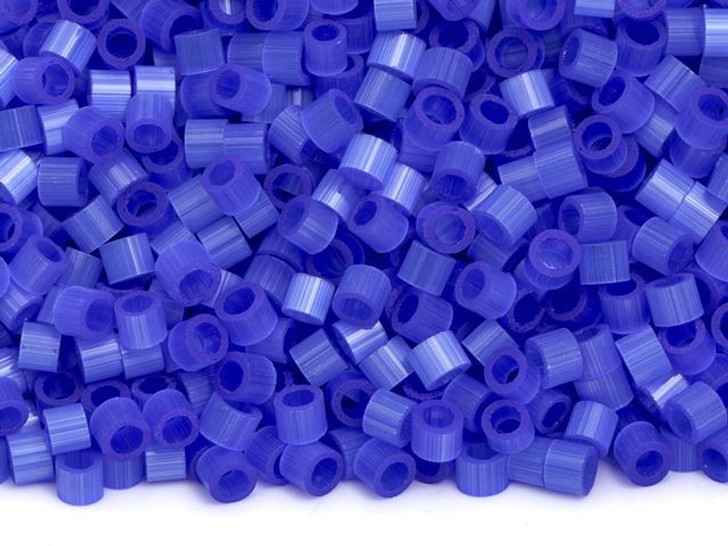 TOHO Aiko 11/0 Fiber-Optic Sapphire Precision Cylinder Seed Beads, 4g Pack