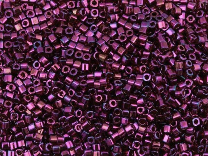TOHO Bead Cube 1.5mm Gold-Lustered Raspberry, 8g bag