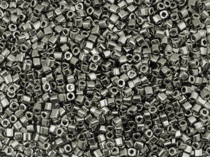 TOHO Bead Cube 1.5mm Nickel, 8g bag