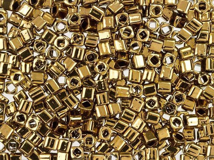 TOHO Bead Cube 3mm Bronze 2.5-Inch Tube