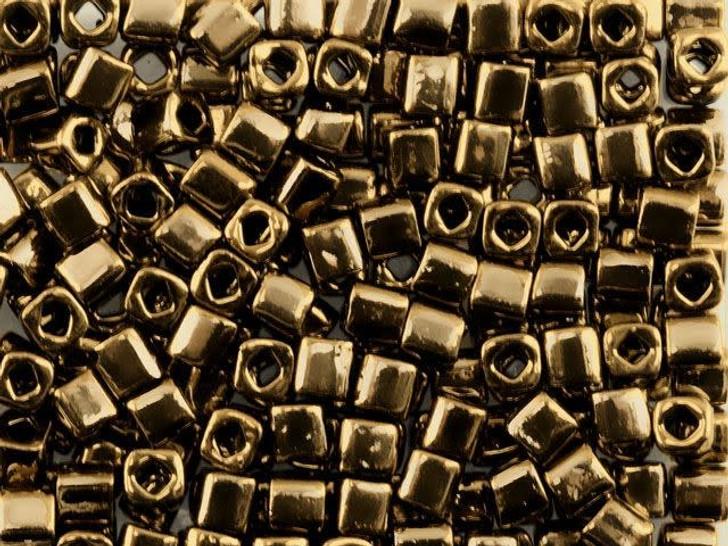 TOHO Bead Cube 4mm Bronze 8g Bag