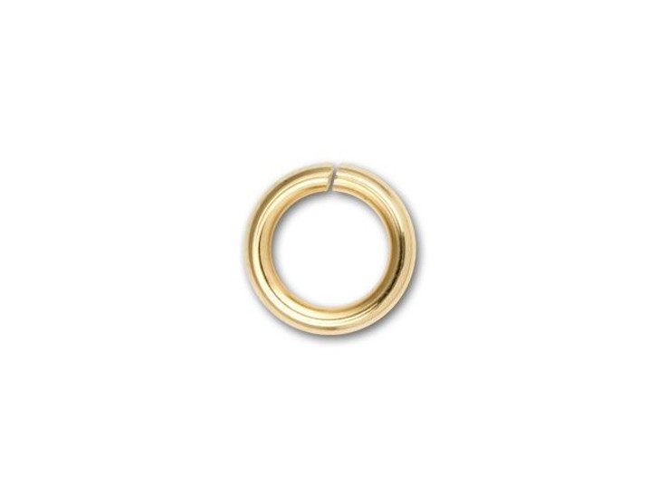 8mm Gold-Filled Open Jump Ring (16 Gauge)