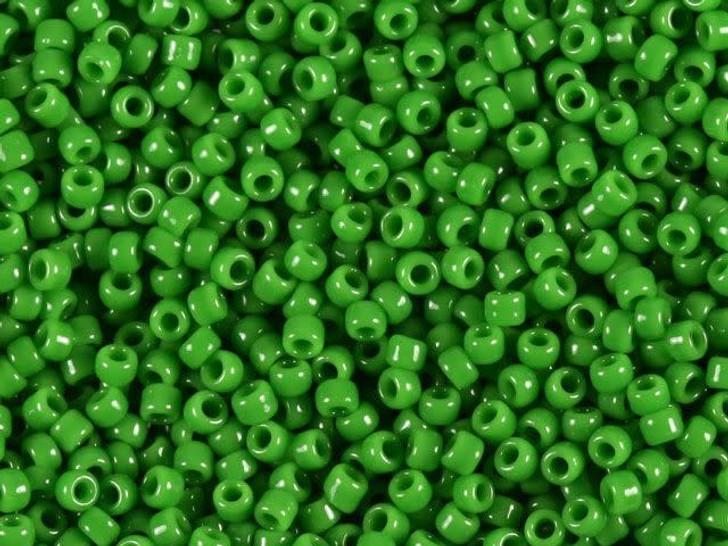 TOHO Bead Round 11/0 Opaque Avocado Green, 2.5-Inch Tube