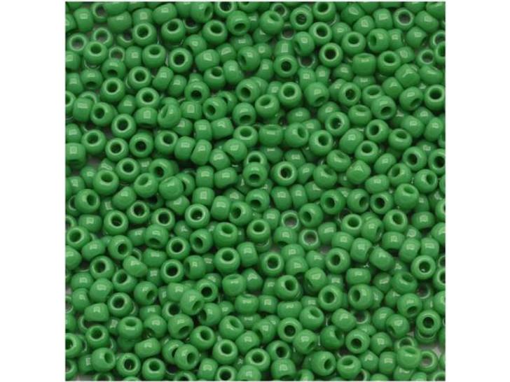 TOHO Bead Round 11/0 Opaque Shamrock, 2.5-Inch Tube
