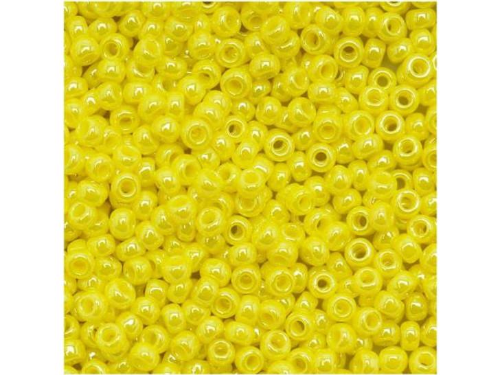 TOHO Bead Round 11/0 Opaque-Lustered Dandelion, 2.5-Inch Tube