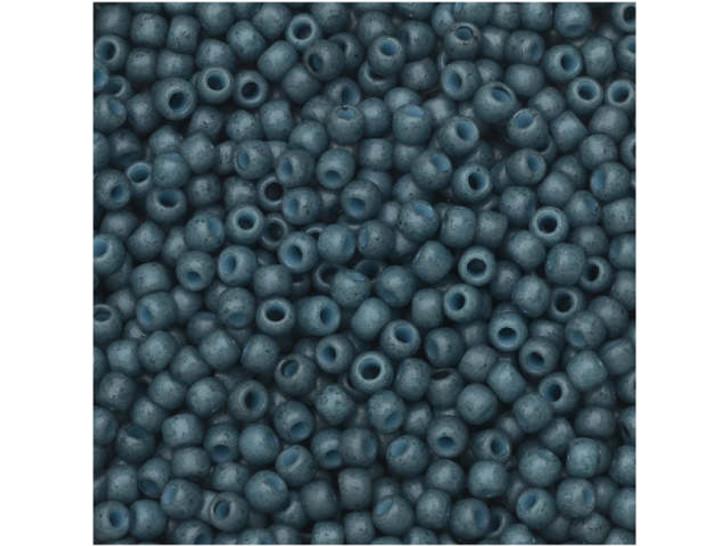TOHO Bead Round 11/0 Semi-Glazed Blue Turquoise 2.5-Inch Tube