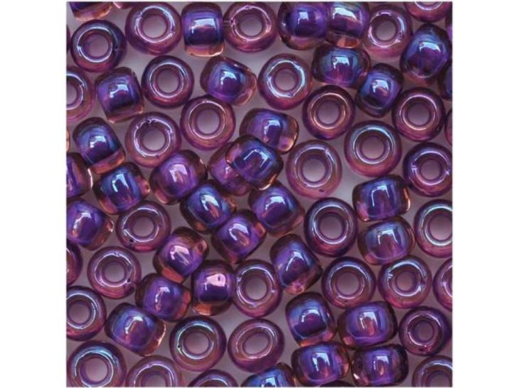 TOHO Bead Round 6/0 Purple Lined Rosaline AB 8g Bag