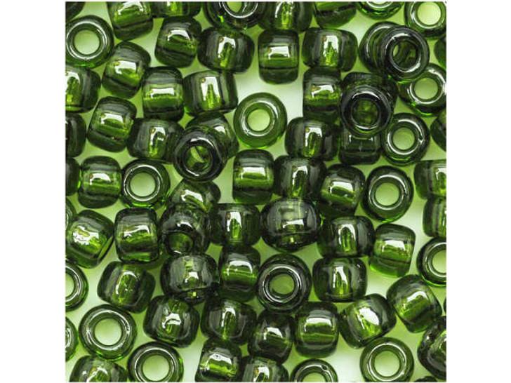 TOHO Bead Round 6/0 Transparent Olivine 8g Bag