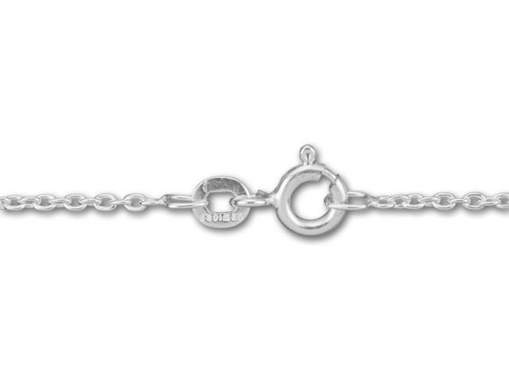 Silver-Filled 925/10 16-Inch Round Cable Chain Necklace
