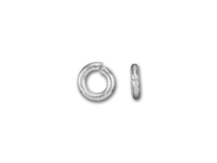 Silver-Filled 925/10 3mm Open Jump Ring, 22 Gauge