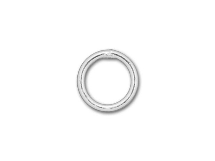Silver-Filled 925/10 5mm Closed Jump Ring, 22 Gauge