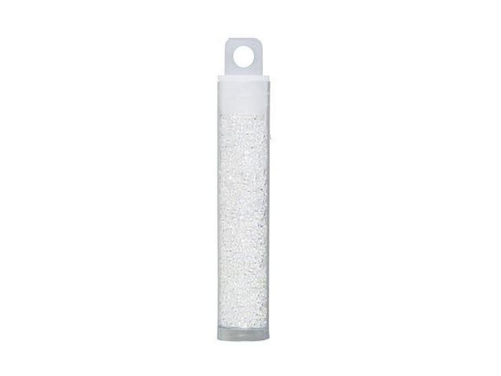 TOHO Demi Round Bead 11/0 Trans-Rainbow Crystal approx. 7.8g Tube
