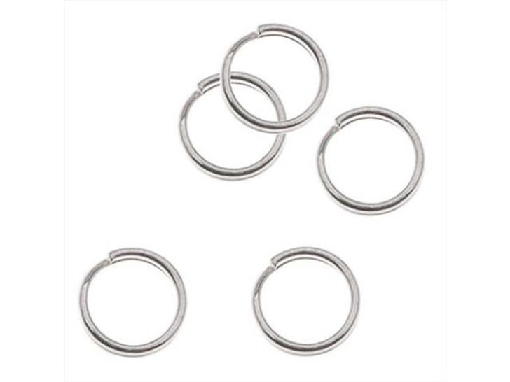 Silver-Filled 925/10 6mm Split Ring