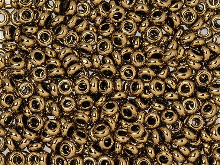 TOHO Demi Round Bead 6/0 Bronze 2.5-Inch Tube