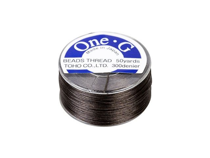 TOHO One-G Beading Thread Brown 50-Yard Spool